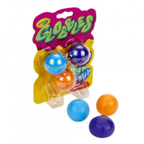 Globbles Squish Toys, Assorted Colors, Pack of 3