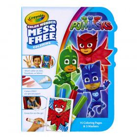 Color Wonder Mess Free On the Go, PJ Masks