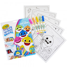 Color Wonder Mess Free Coloring Pad & Markers, Baby Shark