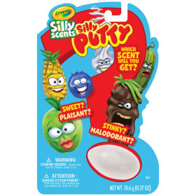Silly Scents Putty Mystery Egg, 1 Count