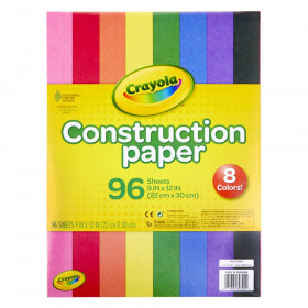 Construction Paper, 96 Sheets