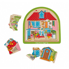 House Multi Layer Puzzle
