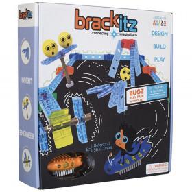 Brackitz Bugz Playpark 47 Piece Building Toy Set