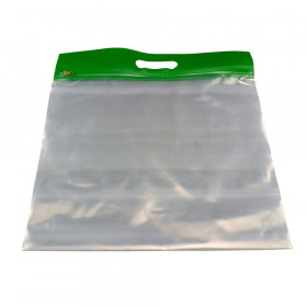 ZIPAFILE Storage Bag, Green, Pack of 25