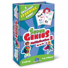Super Genius Multiplication 2 Game