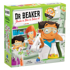 Dr. Beaker Game, Ages 8 and Up, 2-4 Players