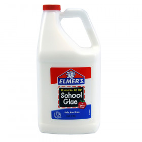 Washable School Glue, Gallon