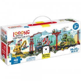 Looong Puzzle Construction Site