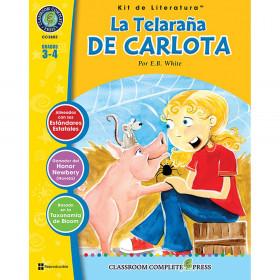 La Telarana de Carlota - Literature Kit, Spanish Version, Grades 3-4