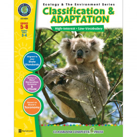 Classification & Adaptation Resource Book, Grades 5-8