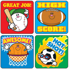 Sports Motivational Stickers