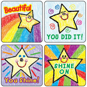 Stars Motivational Stickers