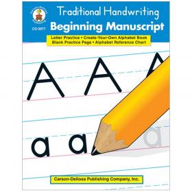 Traditional Handwriting: Beginning Manuscript Resource Book