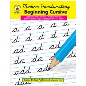 Modern Handwriting: Beginning Cursive Resource Book