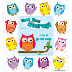 Colorful Owls Framed Awards