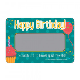Happy Birthday! Scratch Off Awards & Certificates