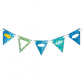 Bubbly Blues Bunting