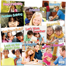 Little World Social Skills Classroom Collection, Grade K-2, 10 Books