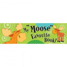 Moose & Friends Bookmarks