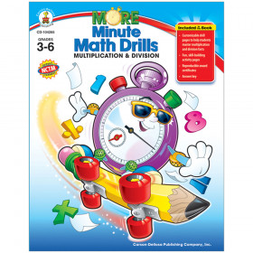 More Minute Math Drills, Grades 3 - 6