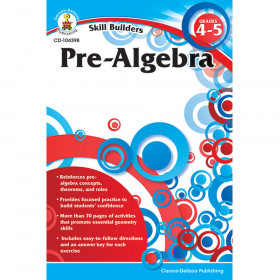 Pre-Algebra, Grades 4 - 5