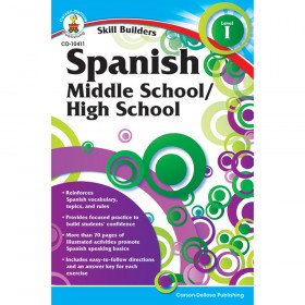 Skill Builders Spanish I Workbook