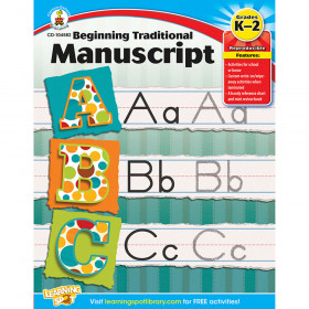 Beginning Traditional Manuscript, Grades K - 2
