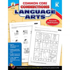 Common Core Connections Language Arts, Grade K