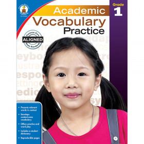 Academic Vocabulary Practice, Grade 1