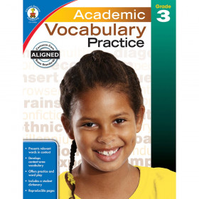 Academic Vocabulary Practice, Grade 3