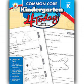 Common Core Kindergarten 4 Today