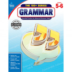The 100+ Series Grammar Workbook, Grade 5-6