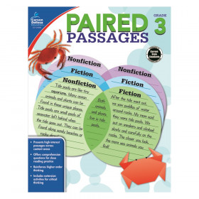 Paired Passages Workbook, Grade 3