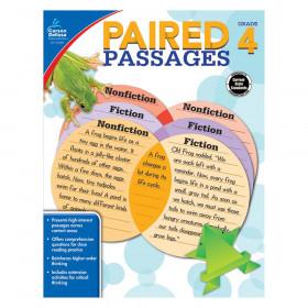 Paired Passages Workbook, Grade 4