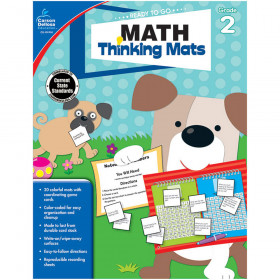 Math Thinking Mats, Grade 2