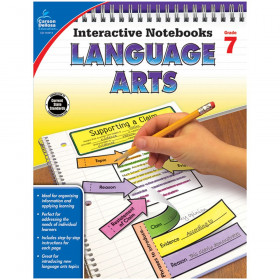 Interactive Notebooks: Language Arts Resource Book, Grade 7