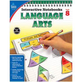 Interactive Notebooks: Language Arts Resource Book, Grade 8
