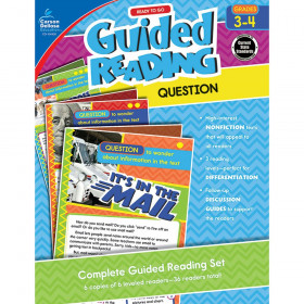 Guided Reading: Question Resource Book, Grades 3-4