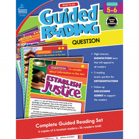 Ready to Go Guided Reading: Question, Grades 5 - 6