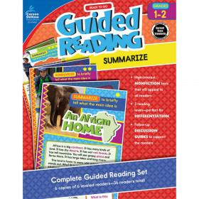 Ready to Go Guided Reading: Summarize, Grades 1 - 2