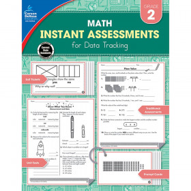 Math Instant Assessments for Data Tracking Resource Book, Grade 2