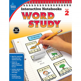 Interactive Notebooks: Word Study Resource Book, Grade 2