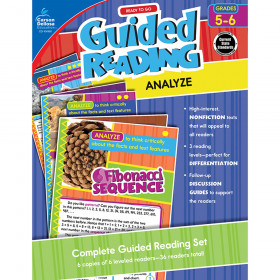 Guided Reading Analyze Gr 5-6
