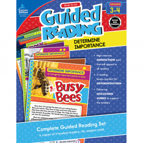 Guided Determine Importance Gr 3-4 Reading
