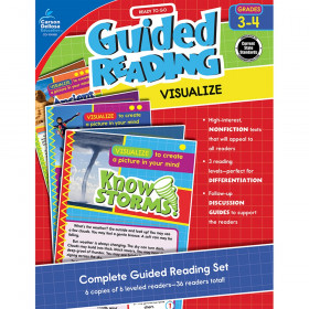 Guided Reading: Visualize Resource Book, Grade 3-4