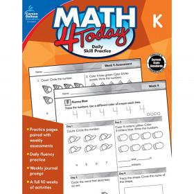 Math 4 Today Workbook, Grade K