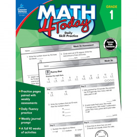 Math 4 Today Workbook, Grade 1