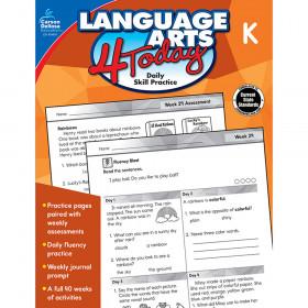 Language Arts 4 Today Kindergarten