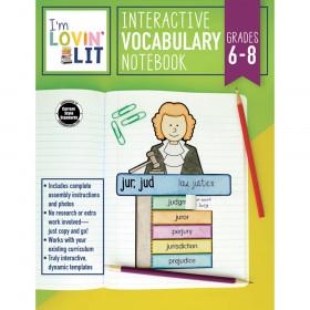 Im Lovin Lit Vocab Notebook Gr 6-8 Interactive
