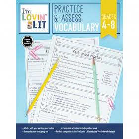 Practice & Assess: Vocabulary Workbook, Grade 4-8